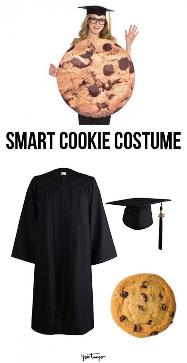 smart cookie last minute halloween costumes