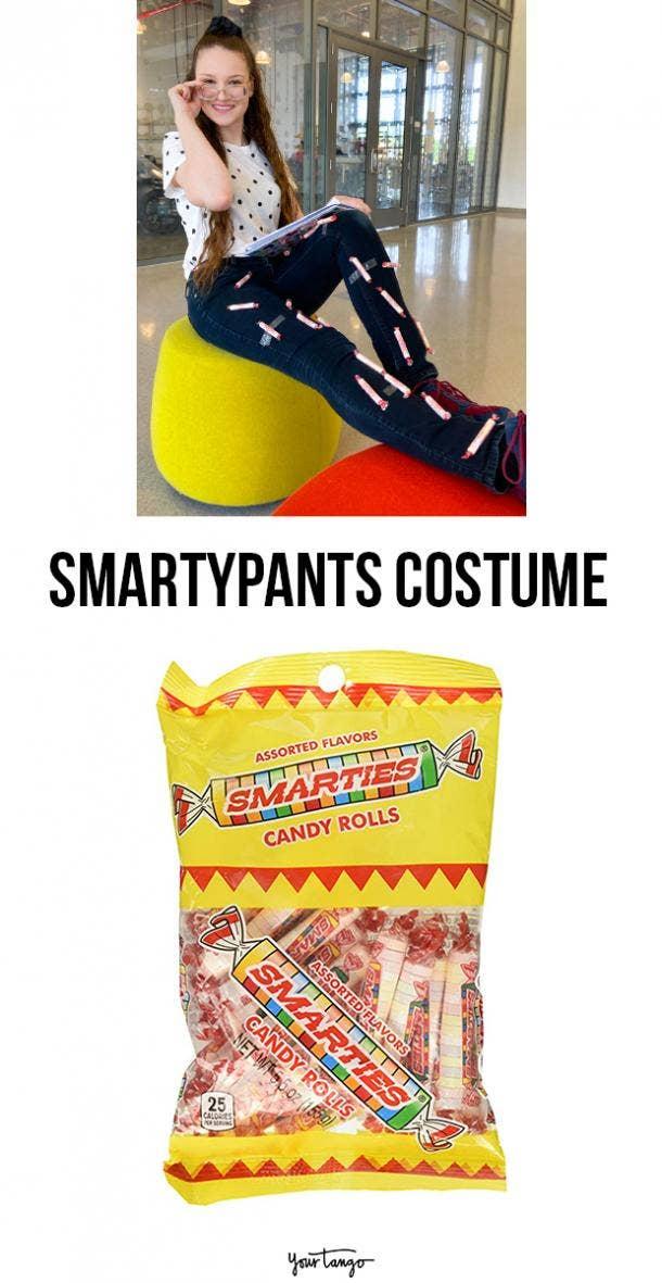 smartypants last minute halloween costumes