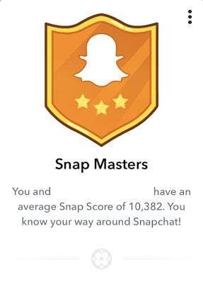 snapchat snap masters charm