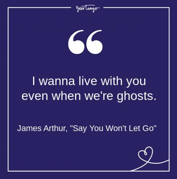 James Arthur Song Quote From Lyrics About Love