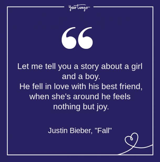 Justin Bieber Song Quote From Lyrics About Love