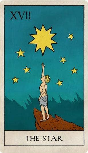 the star tarot card