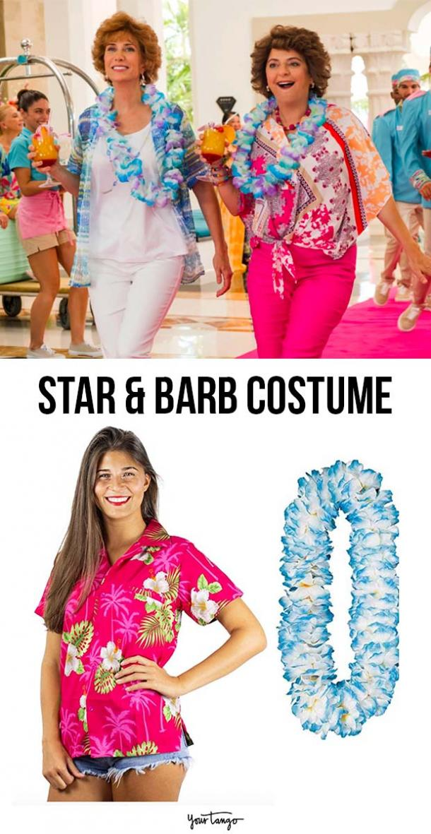 Star and Barb Colorful Lei Costume Inspiration