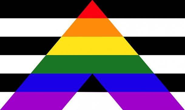 Straight Allies Pride Flag