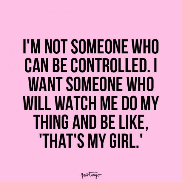 independent woman quote