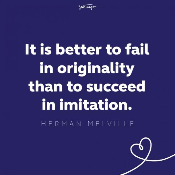 herman melville quote about success