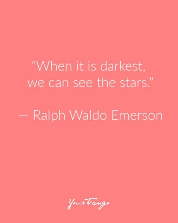 Ralph Waldo Emerson Suicide Prevention Quote