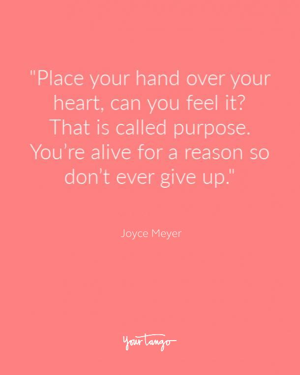 Joyce Meyer Suicide Prevention Quote