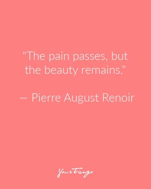 Pierre August Renoir Suicide Prevention Quote