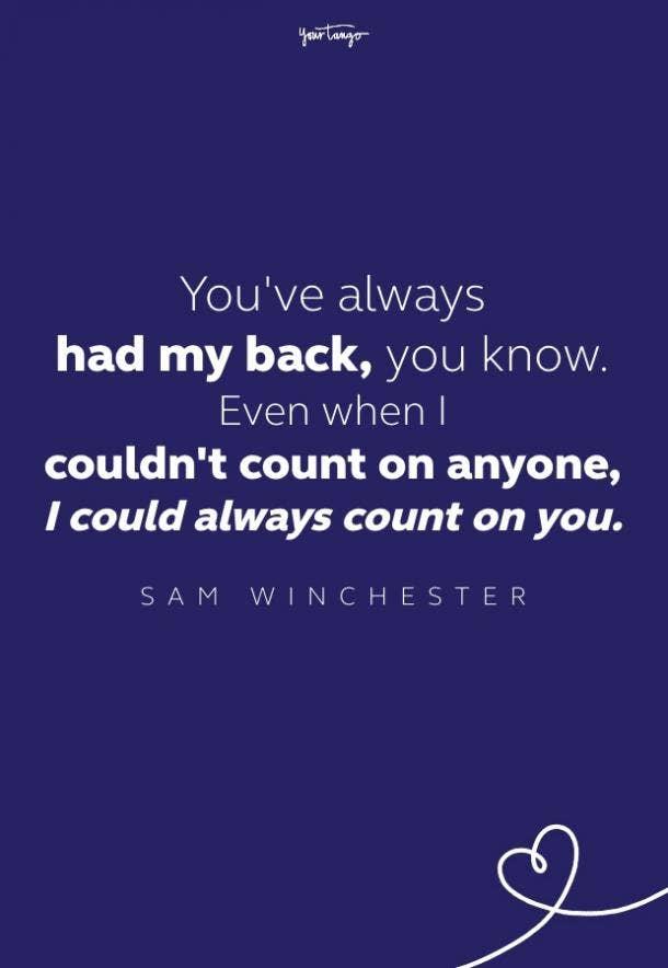 sam winchester quote