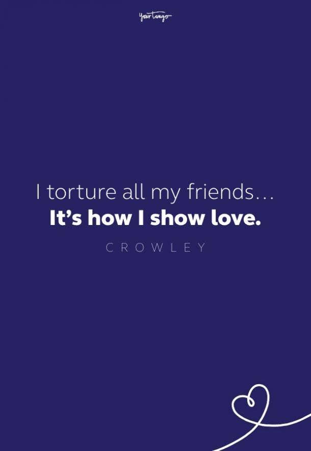 crowley supernatural quote