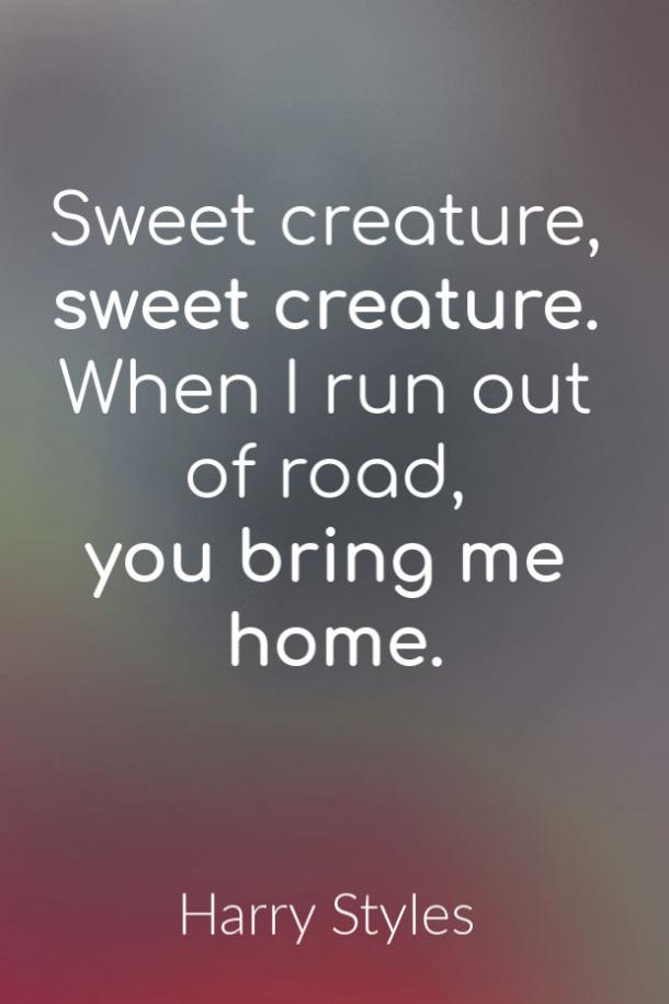 Sweet Creature love song lyrics