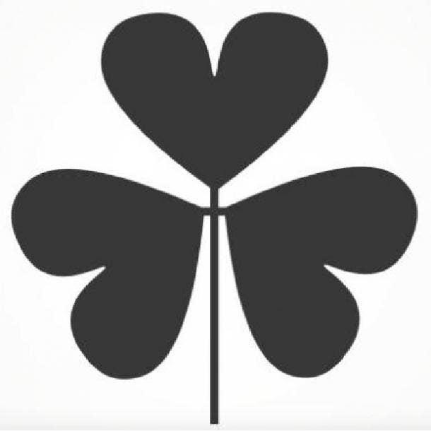 three leaf clover symbol of love