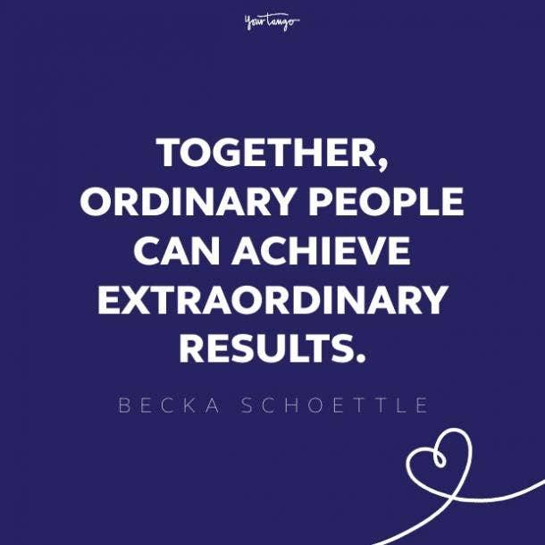 becka shoettle teamwork quote