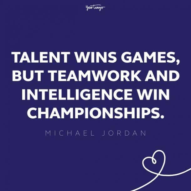 michael jordan teamwork quote
