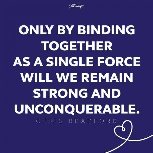 chris bradford teamwork quote