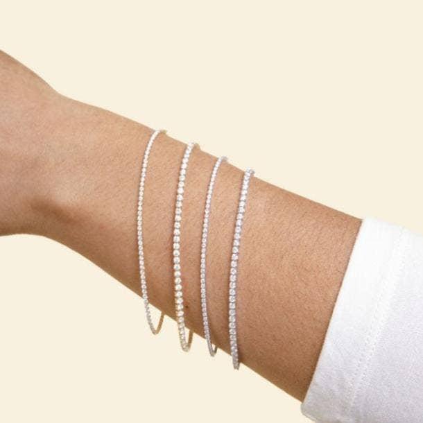 clean origin tennis bracelets