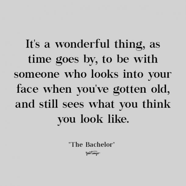 the bachelor cute love quote