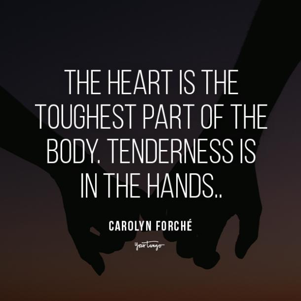 Carolyn Forché i love you quote