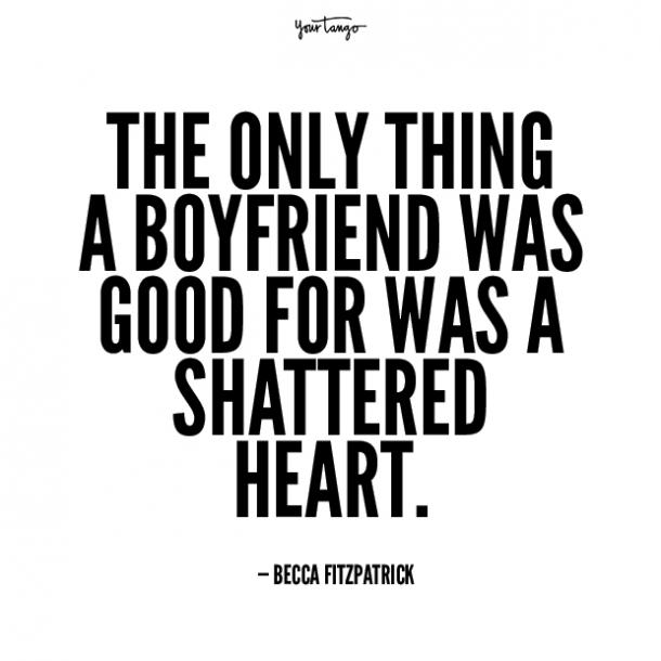 Becca Fitzpatrick unhappy relationship quotes