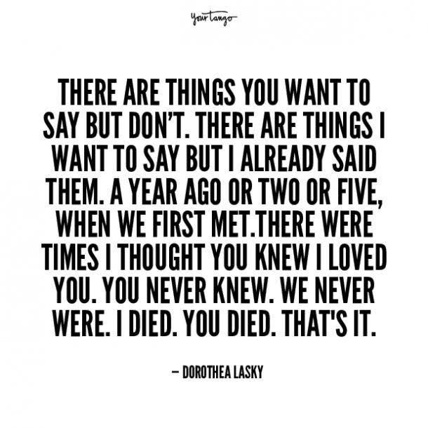 dorothea lasky unhappy relationship quotes