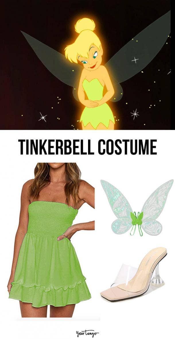 tinkerbell last minute halloween costumes