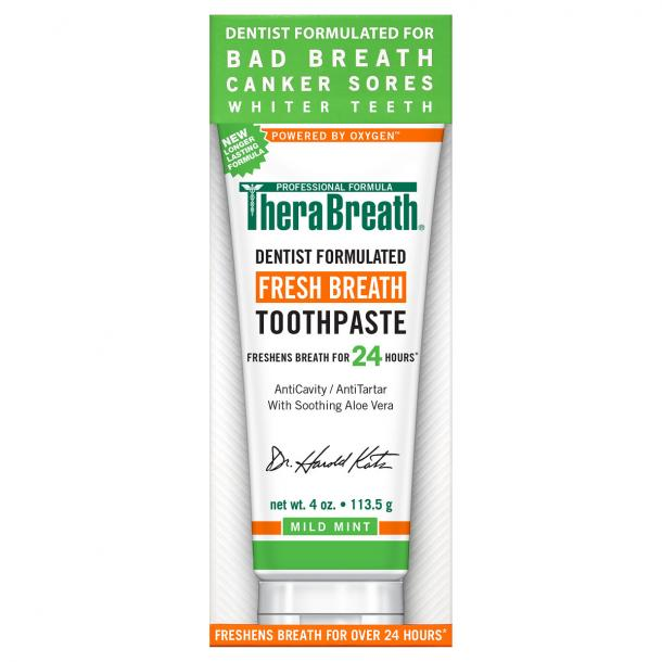 toothpaste for bad breath TheraBreath Fresh Breath Toothpaste