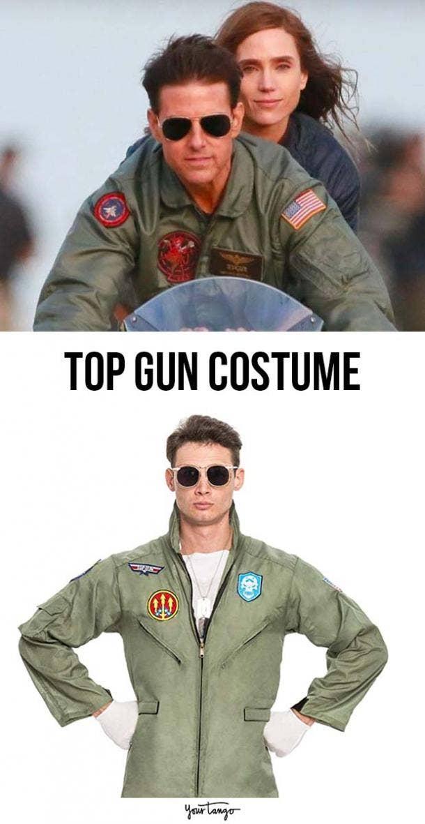 Top Gun Olive Jumpsuit Costume