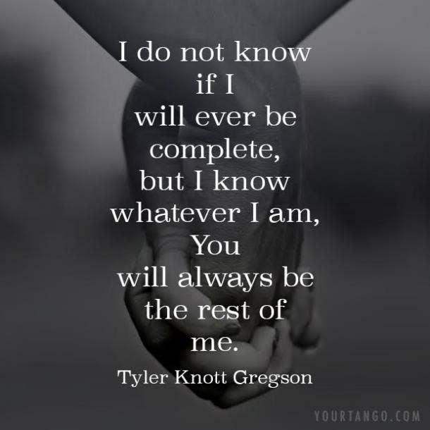 tyler knott gregson short love poems