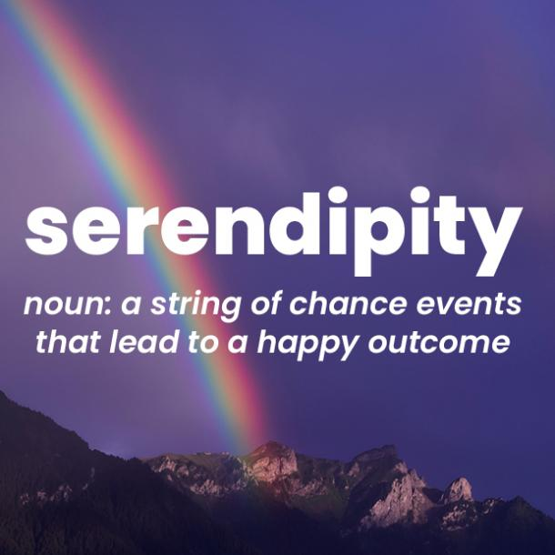 serendipity rare words with beautiful meanings