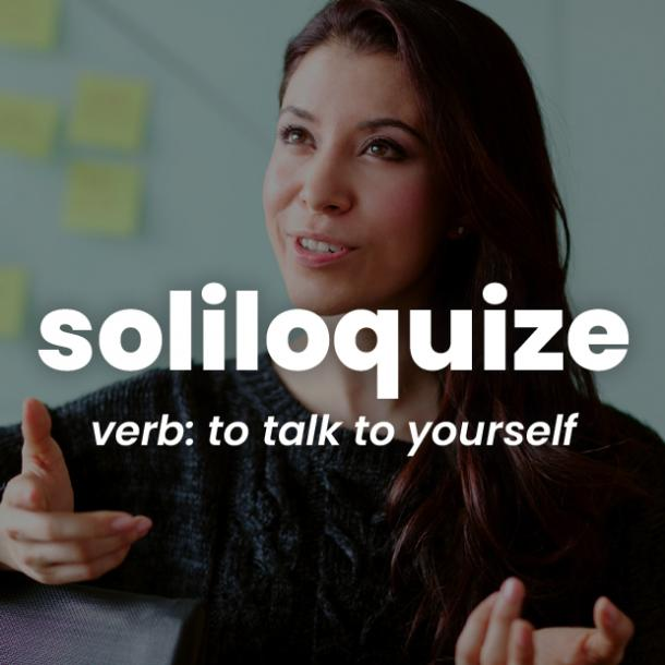 soliloquize rare words with beautiful meanings