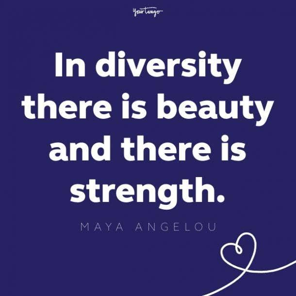 maya angelou unity quote