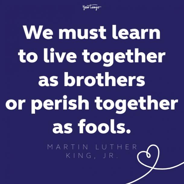 martin luther king jr unity quote