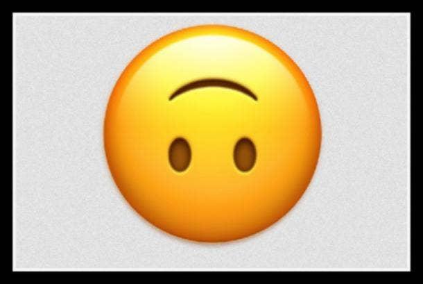 flirty emoji upside down smiley face