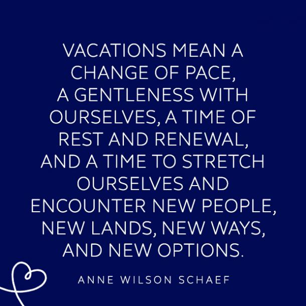 inspirational vacation quotes