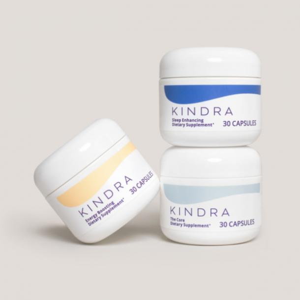 vaginal dryness during sex kindra supplements