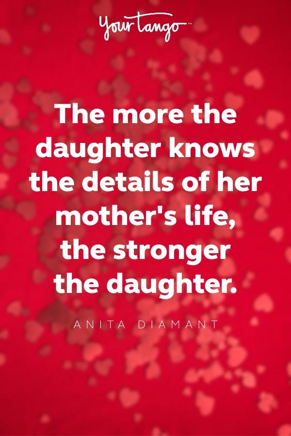 anita diamant valentines day quote for daughter