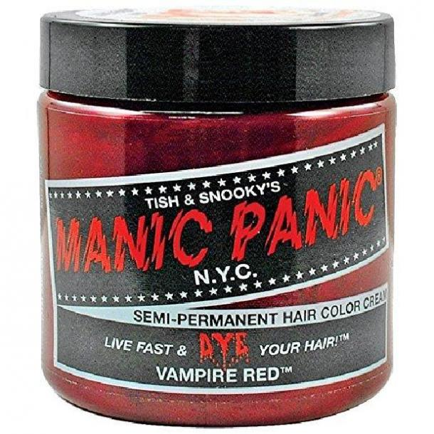 Vampire Red Hair Cream Color by Manic Panic
