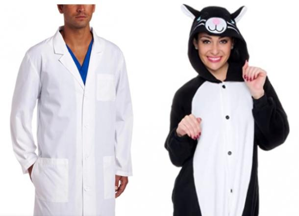 vet and cat costume