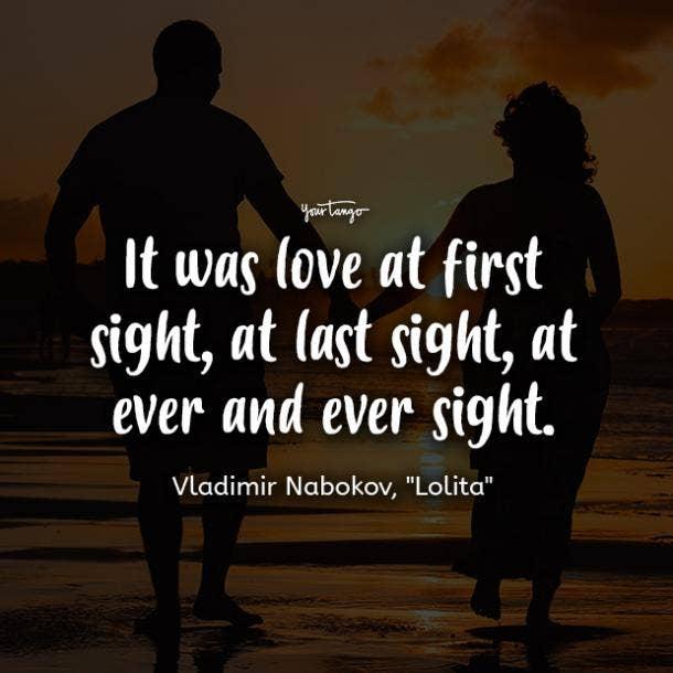 vladimir nabokov lolita romantic quotes