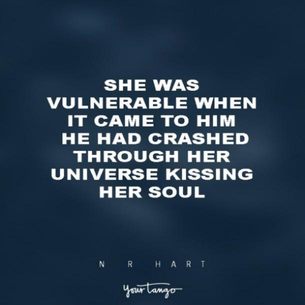 N.R. Hart vulnerability quotes