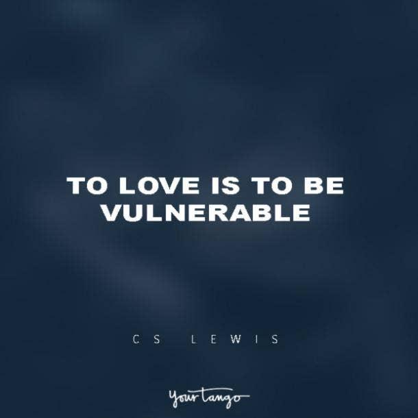 C.S. Lewis vulnerability quotes