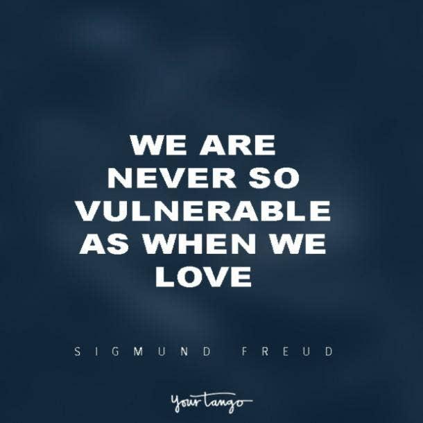 Sigmund Freud vulnerability quotes