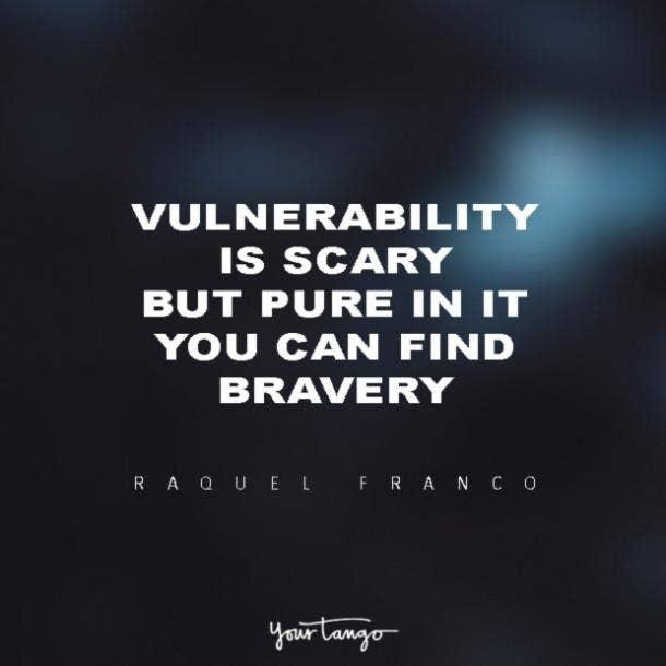 Raquel Franco vulnerability quotes