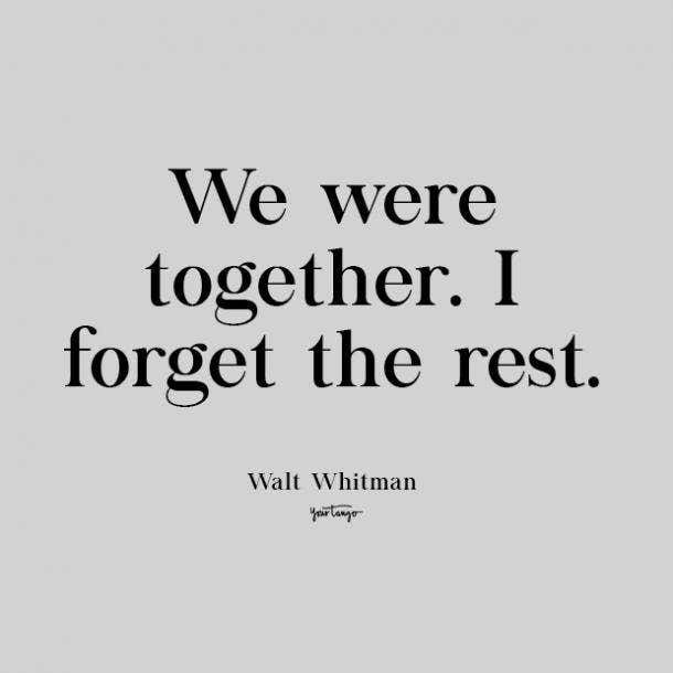 walt whitman cute love quote
