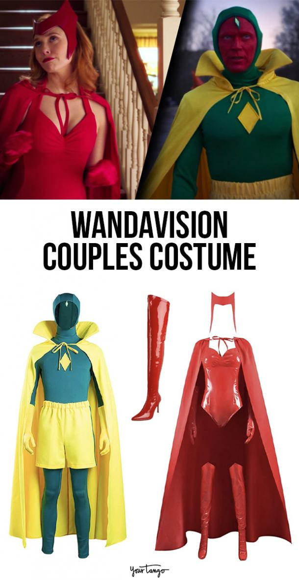 Wanda and Vision's Halloween Episode Couple Costume