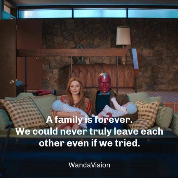 wandavision quotes family
