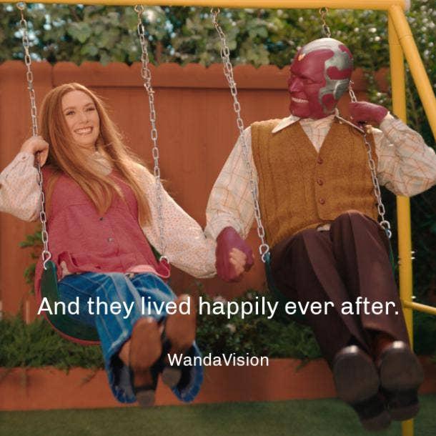 wandavision quotes happily