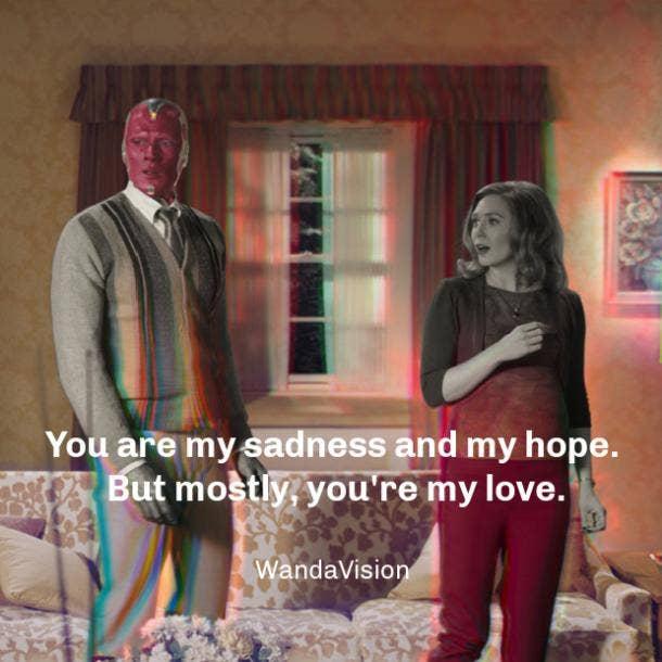wandavision quotes love
