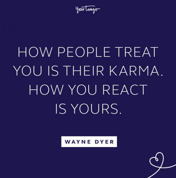 wayne dyer take the high road quote
